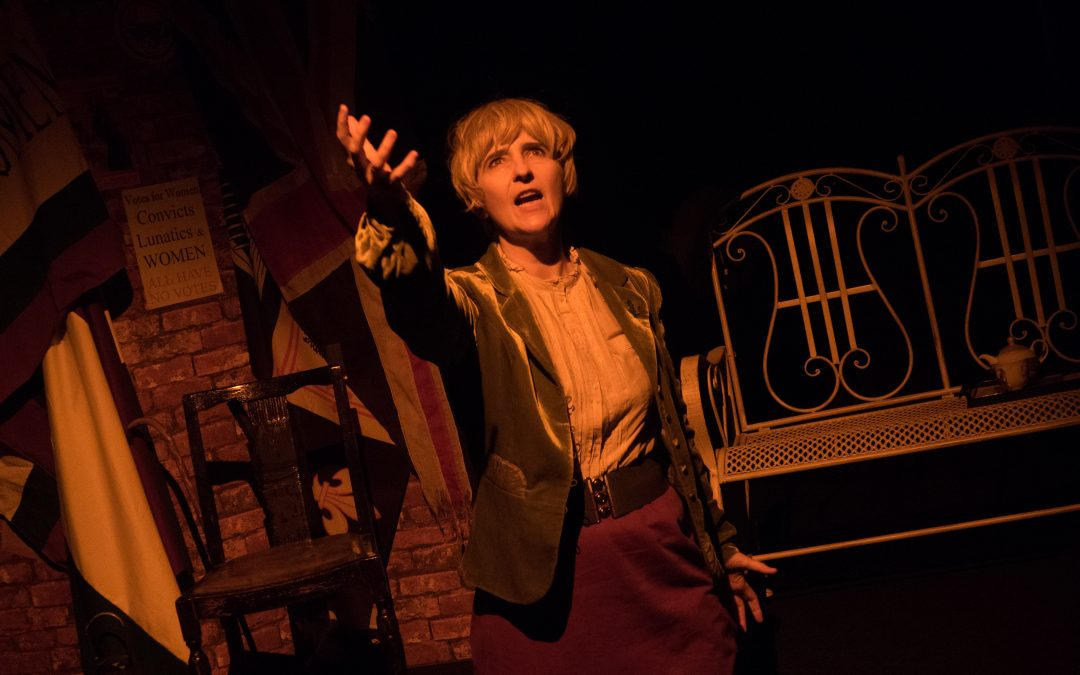 Woman On Fire – suffragette play about Edith Rigby