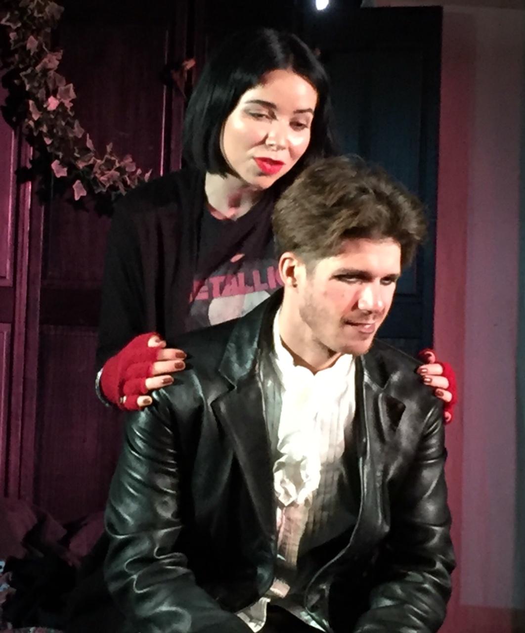 scene from teenabuse play Romeo Jones