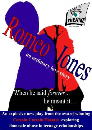 romeo jones teenabuse play poster
