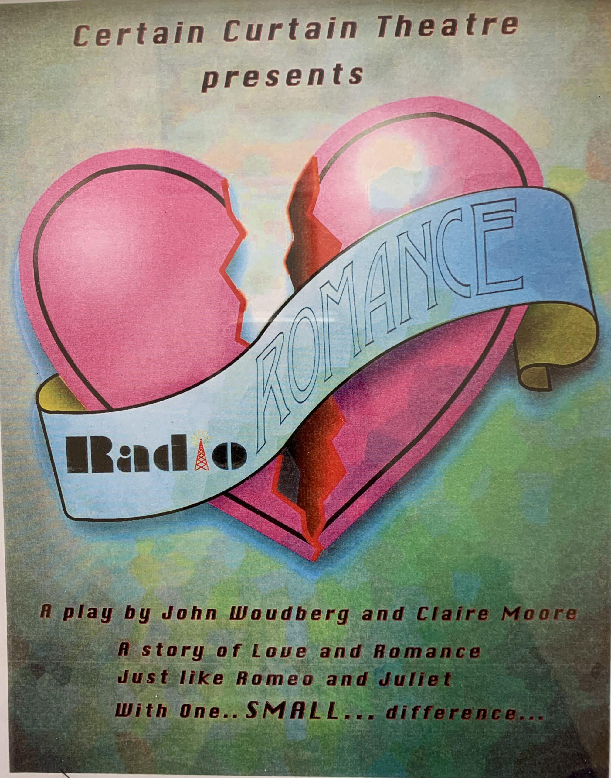 Radio Romance Teen pregnancy play poster